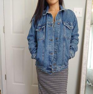 Free People Oversized Jean Jacket NWT
